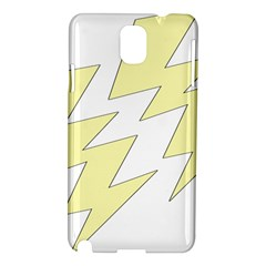 Lightning Yellow Samsung Galaxy Note 3 N9005 Hardshell Case