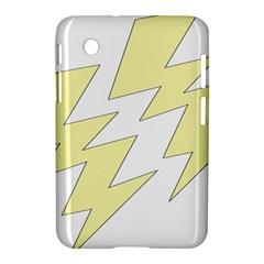 Lightning Yellow Samsung Galaxy Tab 2 (7 ) P3100 Hardshell Case
