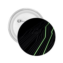 Green Lines Black Anime Arrival Night Light 2 25  Buttons