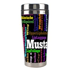Mustache Stainless Steel Travel Tumblers