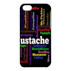 Mustache Apple iPhone 5C Hardshell Case