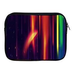 Perfection Graphic Colorful Lines Apple iPad 2/3/4 Zipper Cases