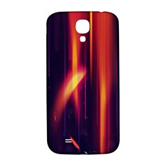 Perfection Graphic Colorful Lines Samsung Galaxy S4 I9500/I9505  Hardshell Back Case