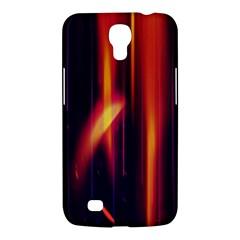 Perfection Graphic Colorful Lines Samsung Galaxy Mega 6.3  I9200 Hardshell Case