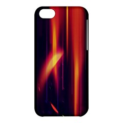 Perfection Graphic Colorful Lines Apple Iphone 5c Hardshell Case