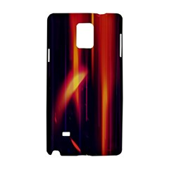 Perfection Graphic Colorful Lines Samsung Galaxy Note 4 Hardshell Case