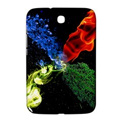 Perfect Amoled Screens Fire Water Leaf Sun Samsung Galaxy Note 8.0 N5100 Hardshell Case