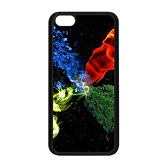 Perfect Amoled Screens Fire Water Leaf Sun Apple iPhone 5C Seamless Case (Black)