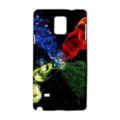 Perfect Amoled Screens Fire Water Leaf Sun Samsung Galaxy Note 4 Hardshell Case