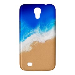 Sand Beach Water Sea Blue Brown Waves Wave Samsung Galaxy Mega 6.3  I9200 Hardshell Case