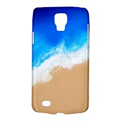 Sand Beach Water Sea Blue Brown Waves Wave Galaxy S4 Active