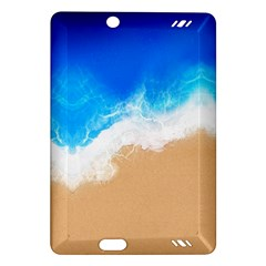 Sand Beach Water Sea Blue Brown Waves Wave Amazon Kindle Fire HD (2013) Hardshell Case