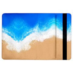 Sand Beach Water Sea Blue Brown Waves Wave iPad Air 2 Flip