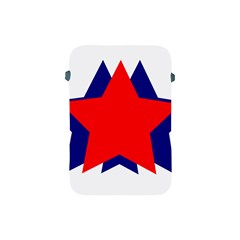 Stars Red Blue Apple iPad Mini Protective Soft Cases