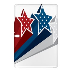 Star Red Blue White Line Space Samsung Galaxy Tab Pro 12.2 Hardshell Case