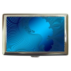 Fractals Lines Wave Pattern Cigarette Money Cases