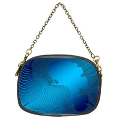Fractals Lines Wave Pattern Chain Purses (one Side)