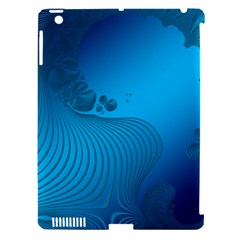 Fractals Lines Wave Pattern Apple Ipad 3/4 Hardshell Case (compatible With Smart Cover)