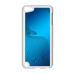 Fractals Lines Wave Pattern Apple Ipod Touch 5 Case (white)