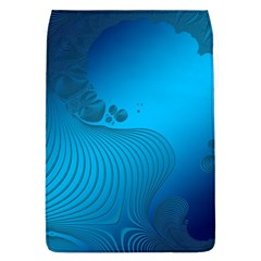 Fractals Lines Wave Pattern Flap Covers (l)