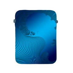 Fractals Lines Wave Pattern Apple Ipad 2/3/4 Protective Soft Cases