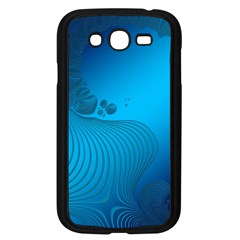 Fractals Lines Wave Pattern Samsung Galaxy Grand DUOS I9082 Case (Black)
