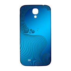 Fractals Lines Wave Pattern Samsung Galaxy S4 I9500/i9505  Hardshell Back Case