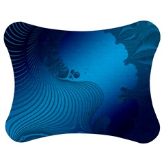 Fractals Lines Wave Pattern Jigsaw Puzzle Photo Stand (bow)