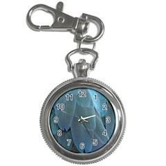 Feather Plumage Blue Parrot Key Chain Watches