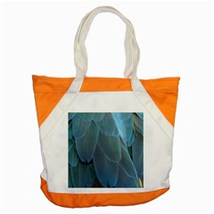 Feather Plumage Blue Parrot Accent Tote Bag