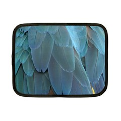 Feather Plumage Blue Parrot Netbook Case (Small)