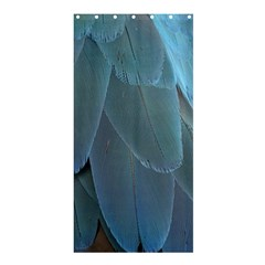 Feather Plumage Blue Parrot Shower Curtain 36  X 72  (stall)