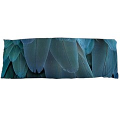 Feather Plumage Blue Parrot Body Pillow Case Dakimakura (Two Sides)