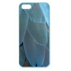 Feather Plumage Blue Parrot Apple Seamless Iphone 5 Case (color)