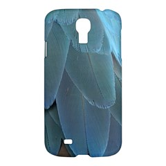 Feather Plumage Blue Parrot Samsung Galaxy S4 I9500/i9505 Hardshell Case