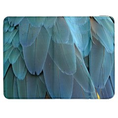 Feather Plumage Blue Parrot Samsung Galaxy Tab 7  P1000 Flip Case