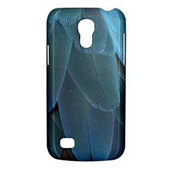 Feather Plumage Blue Parrot Galaxy S4 Mini