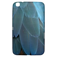 Feather Plumage Blue Parrot Samsung Galaxy Tab 3 (8 ) T3100 Hardshell Case