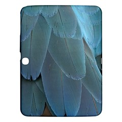 Feather Plumage Blue Parrot Samsung Galaxy Tab 3 (10 1 ) P5200 Hardshell Case