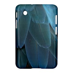 Feather Plumage Blue Parrot Samsung Galaxy Tab 2 (7 ) P3100 Hardshell Case