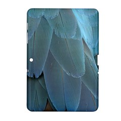 Feather Plumage Blue Parrot Samsung Galaxy Tab 2 (10 1 ) P5100 Hardshell Case