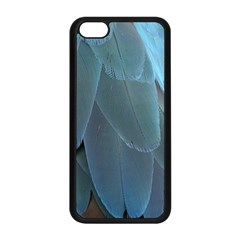 Feather Plumage Blue Parrot Apple iPhone 5C Seamless Case (Black)