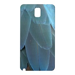 Feather Plumage Blue Parrot Samsung Galaxy Note 3 N9005 Hardshell Back Case