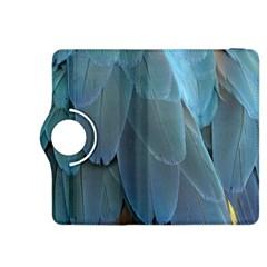 Feather Plumage Blue Parrot Kindle Fire Hdx 8 9  Flip 360 Case