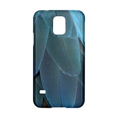 Feather Plumage Blue Parrot Samsung Galaxy S5 Hardshell Case