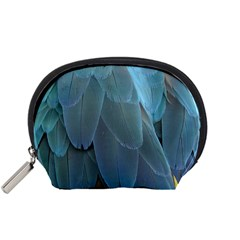 Feather Plumage Blue Parrot Accessory Pouches (Small)