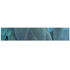 Feather Plumage Blue Parrot Flano Scarf (large)