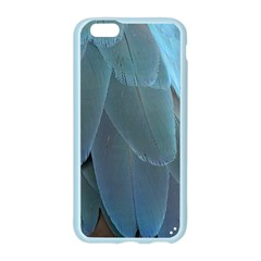 Feather Plumage Blue Parrot Apple Seamless iPhone 6/6S Case (Color)