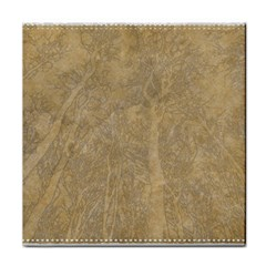 Abstract Forest Trees Age Aging Tile Coasters