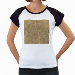 Abstract Forest Trees Age Aging Women s Cap Sleeve T